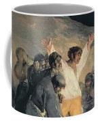 Execution Of The Defenders Of Madrid Coffee Mug by Francisco Jose de Goya y Lucientes