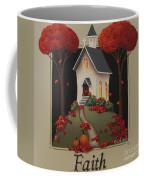 Faith Country Church Coffee Mug by Catherine Holman
