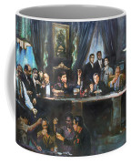 Fallen Last Supper Bad Guys Coffee Mug by Ylli Haruni