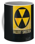 Fallout Shelter Coffee Mug by Olivier Le Queinec