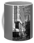Fbi Building Modern Fortress Coffee Mug by Olivier Le Queinec