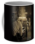 Feeding The Beast Coffee Mug by Edward Fielding