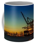 Felixstowe Docks Coffee Mug by Svetlana Sewell