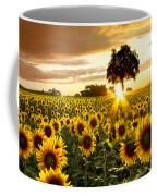 Fields Of Gold Coffee Mug by Debra and Dave Vanderlaan