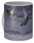 Fighting Prairie Chickens Coffee Mug by Thomas Young