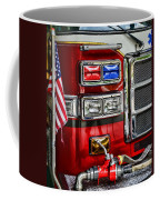 Fireman - Fire Engine Coffee Mug by Paul Ward