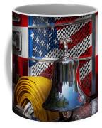 Fireman - Red Hot  Coffee Mug by Mike Savad