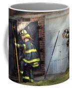 Fireman - Take All Fires Seriously  Coffee Mug by Mike Savad
