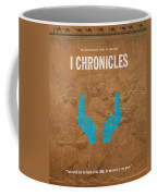 First Chronicles Books Of The Bible Series Old Testament Minimal Poster Art Number 13 Coffee Mug by Design Turnpike