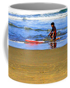 First Wave Coffee Mug by Joseph Coulombe