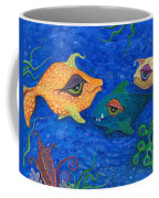 Fishin' For Smiles Coffee Mug by Tanielle Childers