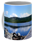 Fishing Day - Calm Waters - Digital Painting Coffee Mug by Barbara Griffin