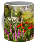 Flower - Poppy - Piece Of Heaven Coffee Mug by Mike Savad
