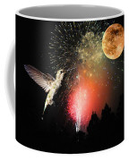 Fly Me To The Moon Coffee Mug by Lynn Bauer