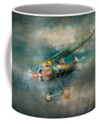 Flying Pig - Acts Of A Pig Coffee Mug by Mike Savad