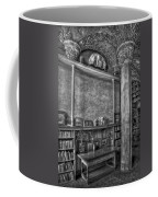 Fonthill Castle Library Coffee Mug by Susan Candelario