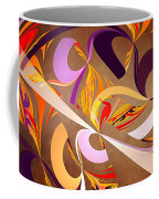 Fractal - Abstract - Space Time Coffee Mug by Mike Savad