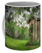 Fragrant Outhouse Coffee Mug by Lori Deiter