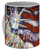 Freedom Coffee Mug by Linda Mears