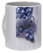 Fresh Picked Blueberries With Vintage Feel Coffee Mug by Edward Fielding