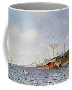 Fresh Wind On The Volga Coffee Mug by Isaak Ilyich Levitan