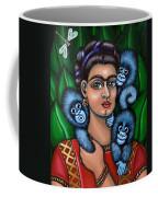 Fridas Triplets Coffee Mug by Victoria De Almeida