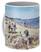 From Sandcastles To College Coffee Mug by Jack Skinner