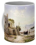 From Sorrento Towards Capri Coffee Mug by Peder Monsted