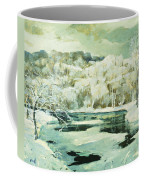 Frosted Trees Coffee Mug by Jonas Lie