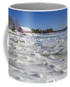 Frozen Coffee Mug by Evelina Kremsdorf
