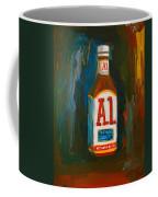 Full Flavored - A.1 Steak Sauce Coffee Mug by Patricia Awapara