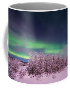 Full Moon Lights Coffee Mug by Priska Wettstein