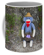 Funky Monkey - Purple Peeps Coffee Mug by Al Powell Photography USA