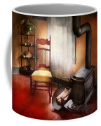 Furniture - Chair - Where She Spent Most Of Her Days Coffee Mug by Mike Savad