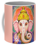 Ganesha's Blessing Coffee Mug by Sue Halstenberg