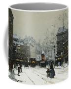 Gare Du Nord Paris Coffee Mug by Eugene Galien-Laloue