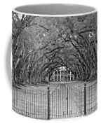 Gateway To The Old South Monochrome Coffee Mug by Steve Harrington