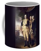 Generals At Yorktown, 1781 Coffee Mug by Granger