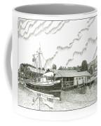 Genius Ready To Fish Gig Harbor Coffee Mug by Jack Pumphrey