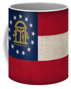 Georgia State Flag Coffee Mug by Pixel Chimp