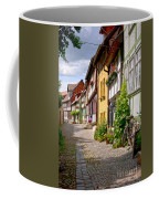 German Old Village Quedlinburg Coffee Mug by Heiko Koehrer-Wagner