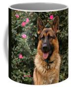 German Shepherd Dog Coffee Mug by Sandy Keeton