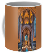 Ghost In The Cathedral Coffee Mug by Adrian Evans