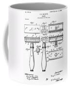 Gillette Razor, 1904 Coffee Mug by Granger
