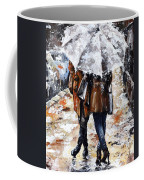 Girlfriends Coffee Mug by Emerico Imre Toth