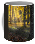 Glowing Maples Square Coffee Mug by Bill Wakeley