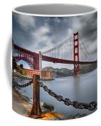 Golden Gate Bridge Coffee Mug by Eduard Moldoveanu