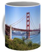 Golden Gate Bridge Coffee Mug by Kelley King
