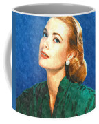 Grace Kelly Painting Coffee Mug by Gianfranco Weiss