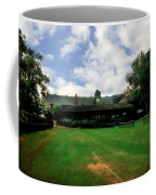Grass Courts At The Hall Of Fame Coffee Mug by Michelle Calkins